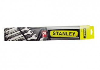 Set 8 buc chei combinate Stanley
