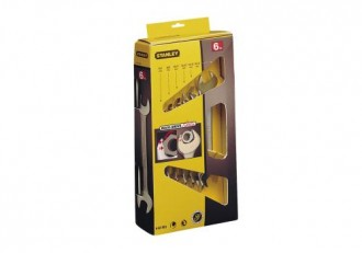 Set chei fixe, 6 piese, 6-17 mm Stanley