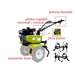 Motocultor Gardelina 50 NEW