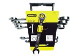 Set chei combinate cu clichet, 6 piese, 10-19 mm Stanley